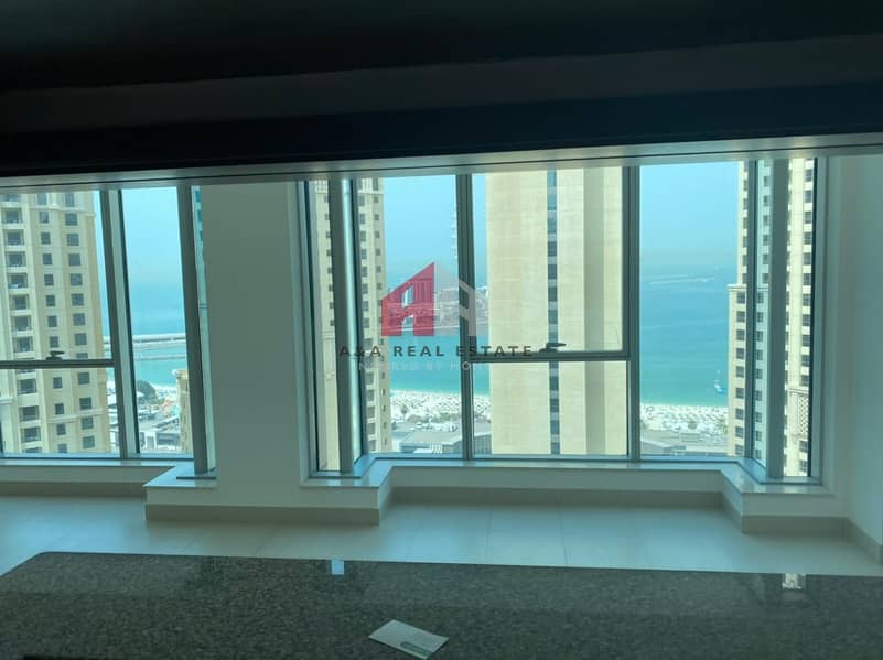 2 Full JBR View |Large Layout | Vacant and High Floor