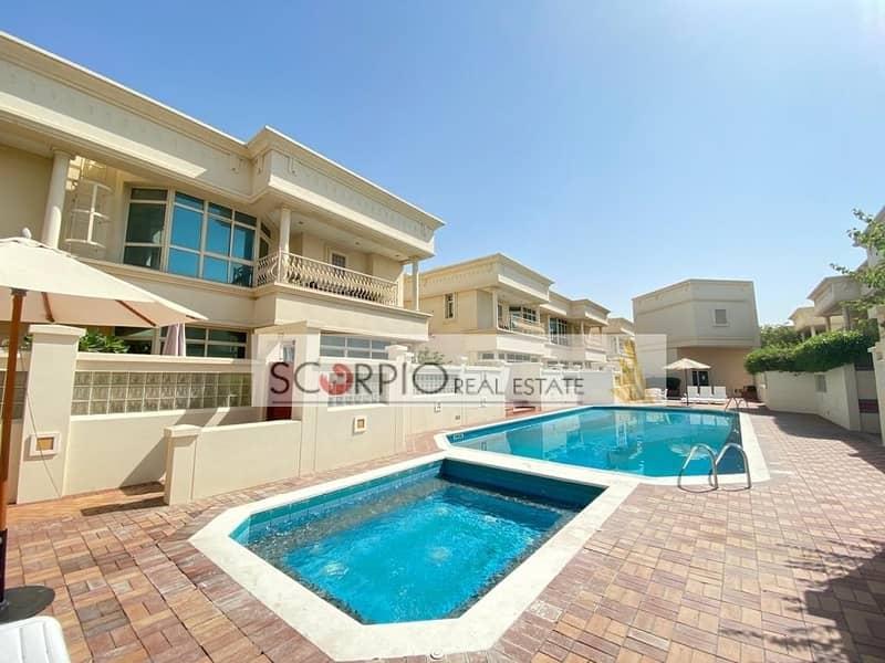15 Private Garden | Compound 4BR Villa | Al Safa 2 with Pool