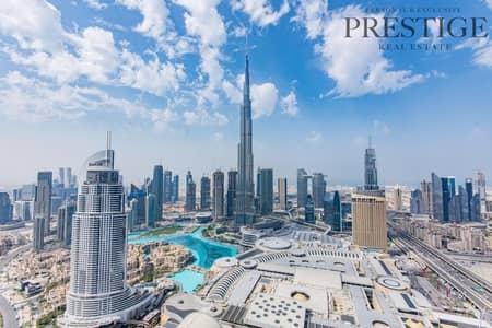 4 Bedroom Penthouse for Rent in Downtown Dubai, Dubai - 4 BR Duplex Penthouse   Burj Khalifa & Fountain View