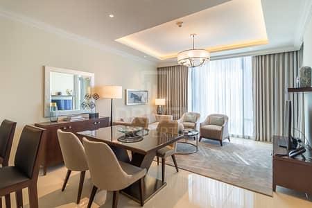 2 Bedroom Flat for Rent in Downtown Dubai, Dubai - Furnished | Burj Khalifa View | Spacious