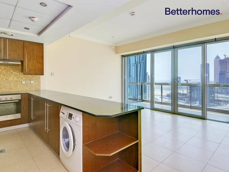 2 Spacious Unfurnished Studio Vacant 31st march