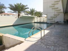 two villa in one plot with pool & Garden -sea view