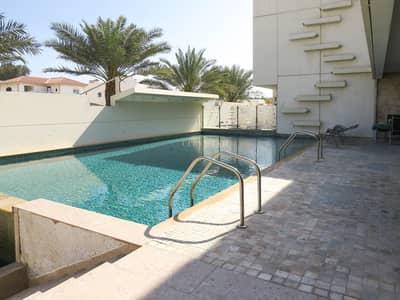 9 Bedroom Villa for Sale in Jumeirah, Dubai - two villa in one plot with pool & Garden -sea view