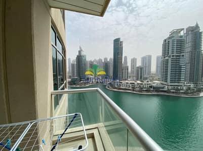فلیٹ 1 غرفة نوم للايجار في دبي مارينا، دبي - Marina View   Furnished   Ready to move in