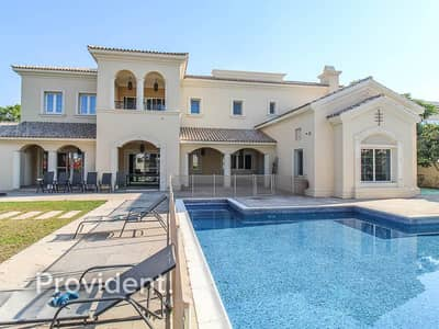 6 Bedroom Villa for Rent in Arabian Ranches, Dubai - Furnished | Private Pool | Biggest Collection