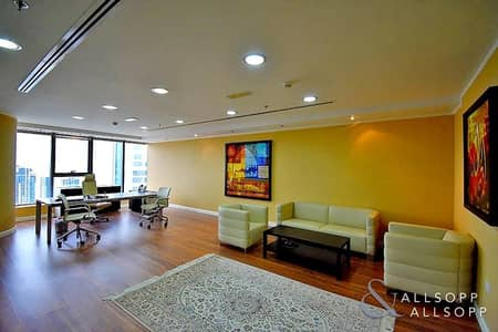 Office for Rent in Jumeirah Lake Towers (JLT), Dubai - Fully Furnished | Half Floor | Amazing Office