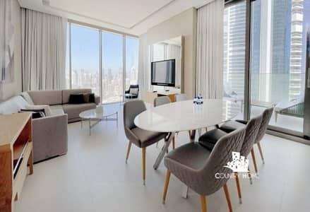 شقة فندقية 2 غرفة نوم للايجار في الخليج التجاري، دبي - All Inclusive I SLS Hotels& Apartments I 2 Br Apartment