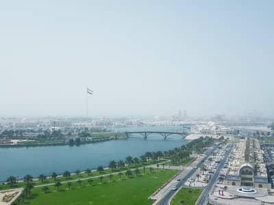 3 Bedroom Apartment for Rent in Al Majaz, Sharjah - Corniche Facing  A/C Free Luxurious 3BHK Apt + Maid's Room  HC Parking In Just 70k Al Majaz 1