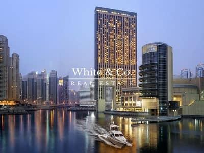 فلیٹ 2 غرفة نوم للايجار في دبي مارينا، دبي - TYPE R2C 2 BED PANORAMIC SEA VIEW