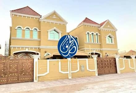 5 Bedroom Villa for Sale in Al Mowaihat, Ajman - Villa for sale in Ajman, Al Mowaihat area First inhabitant with bank facilities