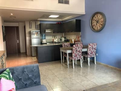 2 Bedroom Apartment for Rent in Jumeirah Village Triangle (JVT), Dubai - Fully Furnished  Apt with Balcony I Lower Floor I Vacant on 1st April