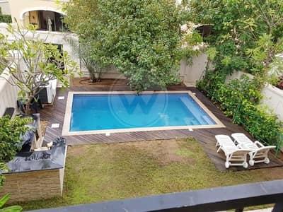 4 Bedroom Villa for Sale in Saadiyat Island, Abu Dhabi - Extended quadplex with pool | Landscaped garden