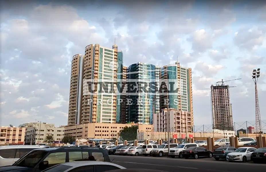 Sea View Studio Apartment for Rent in Ajman Horizon Tower
