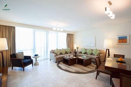 شقة فندقية 3 غرف نوم للايجار في جميرا بيتش ريزيدنس، دبي - Hotel Apartments | Massive Layout | Sea View