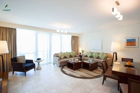2 Bedroom Hotel Apartment for Rent in Jumeirah Beach Residence (JBR), Dubai - Sea View | Hotel Apartments | Well Maintained