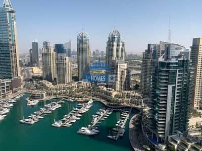 فلیٹ 3 غرف نوم للايجار في دبي مارينا، دبي - Brand New 3BR / Perfect Condition / Full Marina View