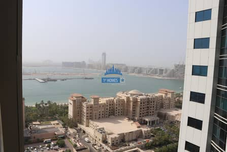 Fully Furnished 1BR / Chiller Free / Sea and Palm  View