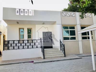 3 Bedroom Villa Compound for Rent in Al Mutawaa, Al Ain - Ground floor villa   include water and electricity   Garden view