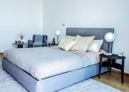 فلیٹ 3 غرف نوم للبيع في نخلة جميرا، دبي - Mid Floor I Stunning Sea View I Super Potato Design