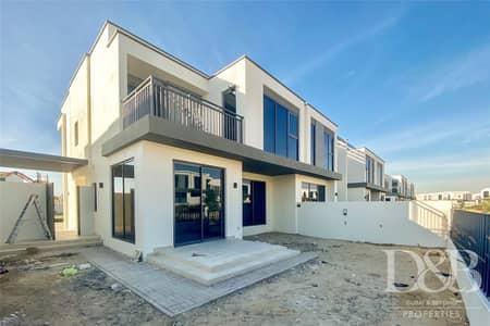 تاون هاوس 5 غرف نوم للايجار في دبي هيلز استيت، دبي - Park Facing | Brand New | Five Bedrooms | 3E