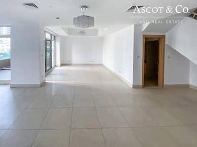 3 Bedroom Flat for Rent in Dubai Marina, Dubai - 3BR Duplex  6 Cheques   Great location  