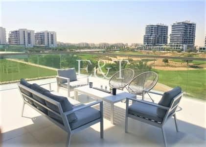 2 Bedroom Apartment for Sale in DAMAC Hills (Akoya by DAMAC), Dubai - Motivated Seller Full Golf View Huge Terrace