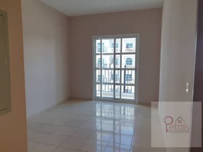 1 Bedroom Flat for Rent in Dubai Production City (IMPZ), Dubai - REDUCED PRICE IN 12 CHEQUES QASR SABAH 1B/ROOM WITH BALCONY\
