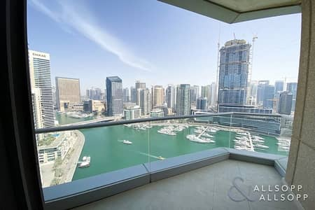 2 Bedroom Apartment for Rent in Dubai Marina, Dubai - 2 Bed | Marina View | 3 Bath | Available
