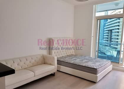 Studio for Rent in Dubai Marina, Dubai - Exclusive Fully Upgraded Studio | Multiple cheques