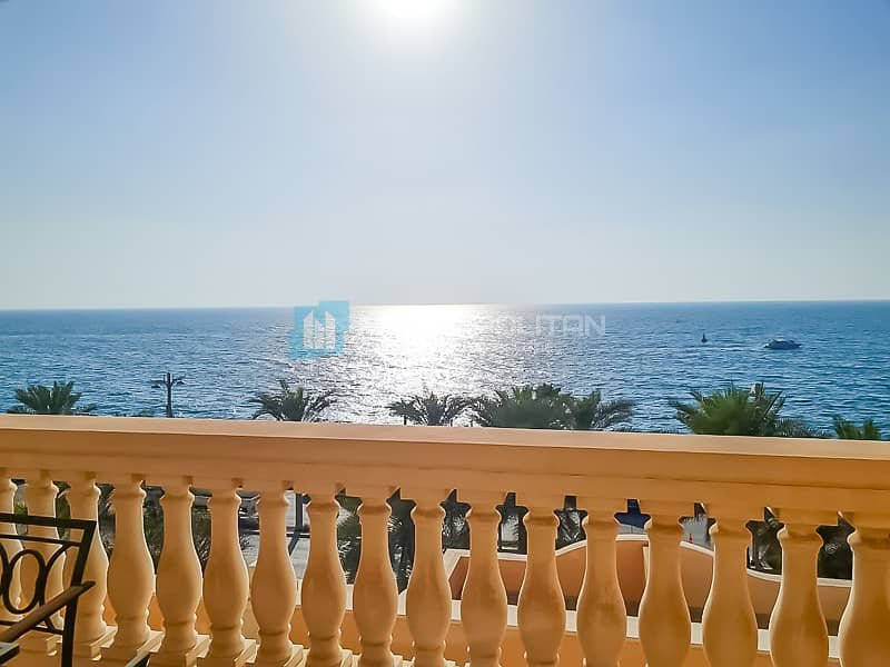 15 Spectacular Sea view| Furnished 2BR| Luxury Living