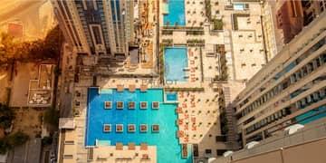 شقة في آمنة مدينة الحبتور الخليج التجاري 3 غرف 2200000 درهم - 5057192