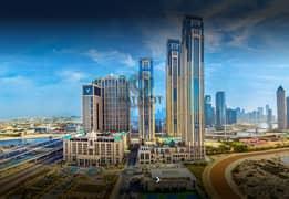 شقة في آمنة مدينة الحبتور الخليج التجاري 2 غرف 1650000 درهم - 5057193