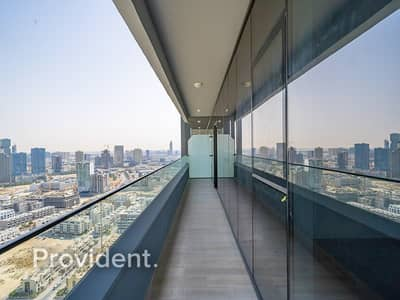 2 Bedroom Flat for Rent in Jumeirah Village Circle (JVC), Dubai - Skyline View | Brand New | One Month Free