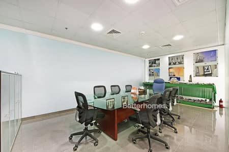 Office for Sale in Jumeirah Lake Towers (JLT), Dubai - Furnished  |  Partitioned |  Swiss Tower