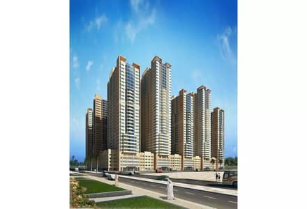 2 Bedroom Apartment for Rent in Emirates City, Ajman - Available For Rent Two Bedroom In Goldcrest Tower 19000