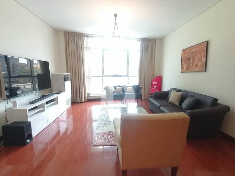 UPGRADED FULLY FURNISHED / 1 BEDROOM PLUS STUDY