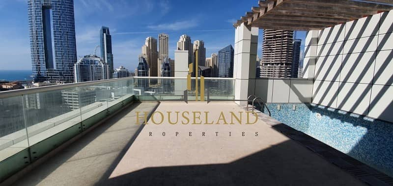 16 Penthouse 4 Bedrooms+Maid| One Month Free|| Privet Pool