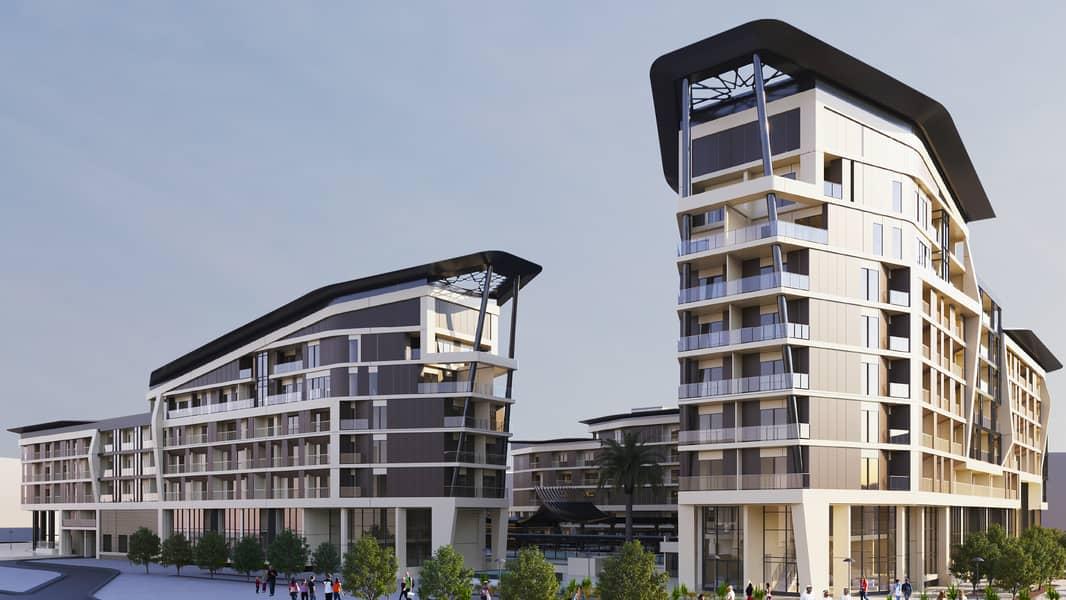 Spacious Apartment in Abu Dhabi Al Mahra Residence