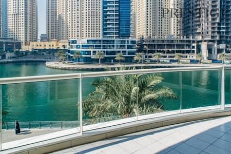 شقة 2 غرفة نوم للايجار في دبي مارينا، دبي - Amazing Large 2 bedroom + Study Full Marina view