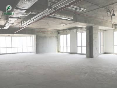 Office for Rent in Dubai Marina, Dubai - Well Maintained | Shell and Core | Massive Layout