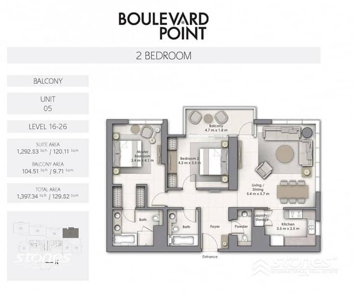 54 Contemporary | Burj Views | Resale