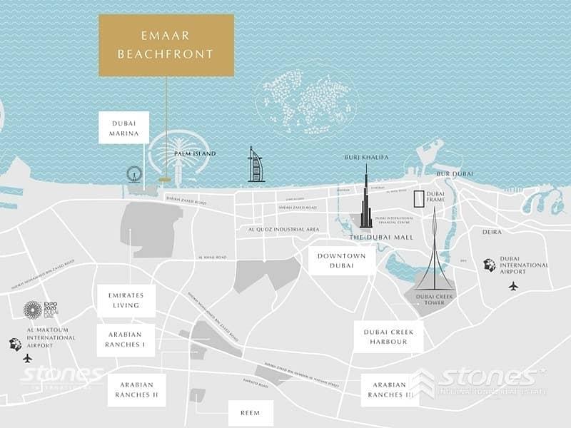 80 Bulk Unit | Luxurious Project | Beachfront living