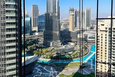 فلیٹ 3 غرف نوم للبيع في وسط مدينة دبي، دبي - Resale | Full Burj & Fountain View | Post Plan