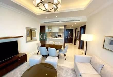 شقة فندقية 2 غرفة نوم للبيع في وسط مدينة دبي، دبي - Burj Khalifa & Fountain View  l Vacant by OCT