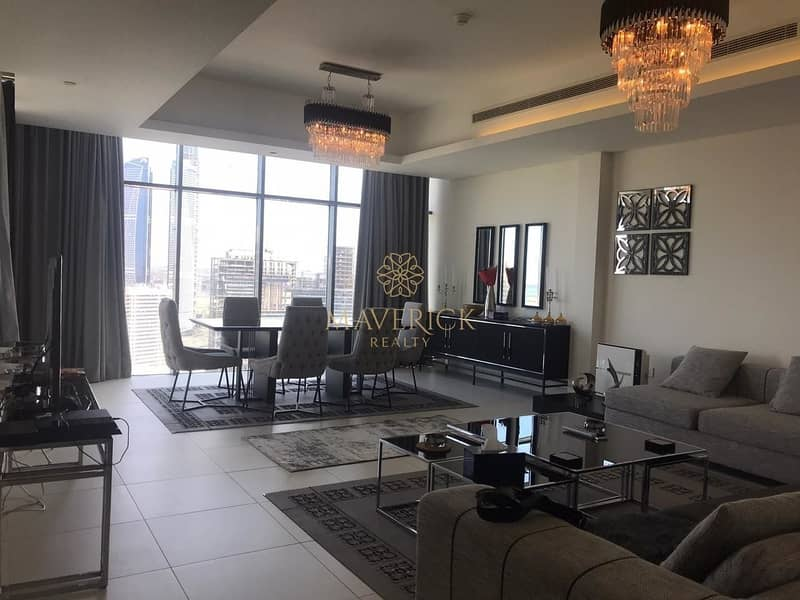 2 Brand New 2BR | Canal View | Unfurnished