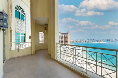 4 Bedroom Penthouse for Sale in Palm Jumeirah, Dubai - Vacant | H Type Penthouse | Full sea view | Al Msalli