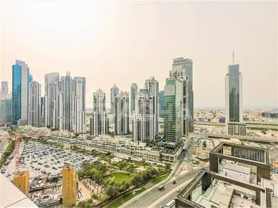 شقة 1 غرفة نوم للايجار في وسط مدينة دبي، دبي - Great Sea Views /  Chiller Free / High Floor