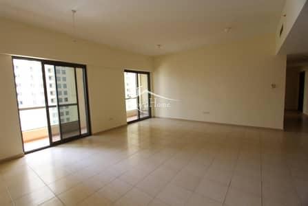 شقة 2 غرفة نوم للايجار في جميرا بيتش ريزيدنس، دبي - 2BR + Storage | Middle Floor | Marina View