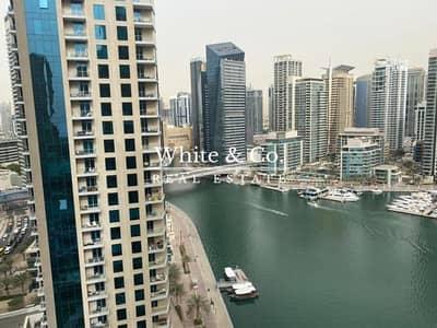 شقة 1 غرفة نوم للبيع في دبي مارينا، دبي - Genuine Listing - Full Marina Views - Vacant Now