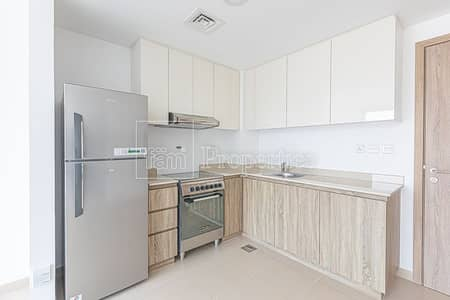 1 Bedroom Apartment for Rent in Town Square, Dubai - Kitchen Appliances|Corner|Brand New High-floor